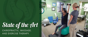 chiropractic, massage, exercise therapy